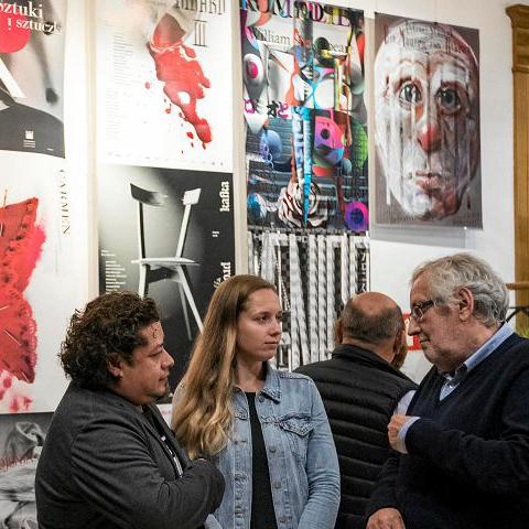 Jisuke Matsuda jisukematsuda 16th International Biennale of Theatre Poster Rzeszów